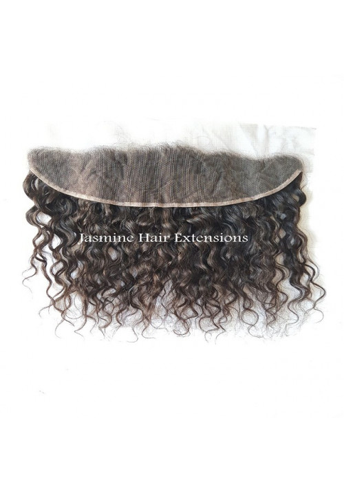 Lace hair frontal, 13*4 lace frontal, 100% human, top quality Unprocessed Curly Hair Frontals