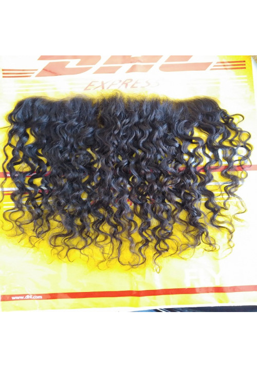 Indian Curly hair Frontal