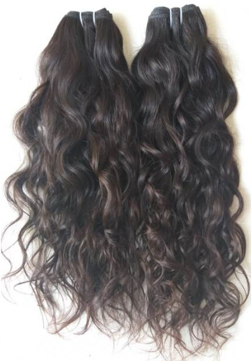 100% Human Hair Extensions loose curly hair
