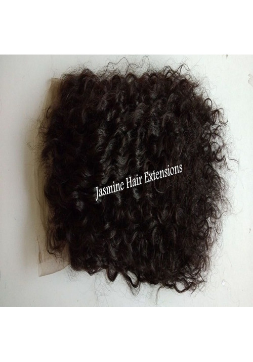Top Quality No shedding Tangle Free, Raw Unprocessed Curly Lace Wig