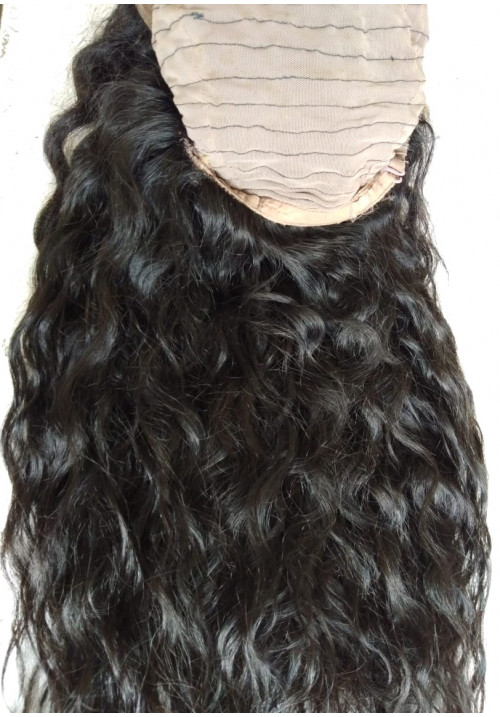 Natural curly Front Lace Wig