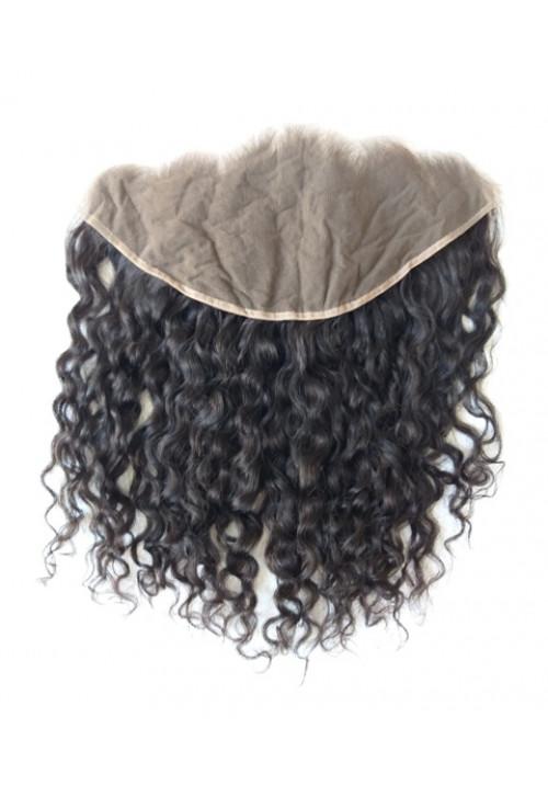 Raw Deep Curly Human Hair Frontal