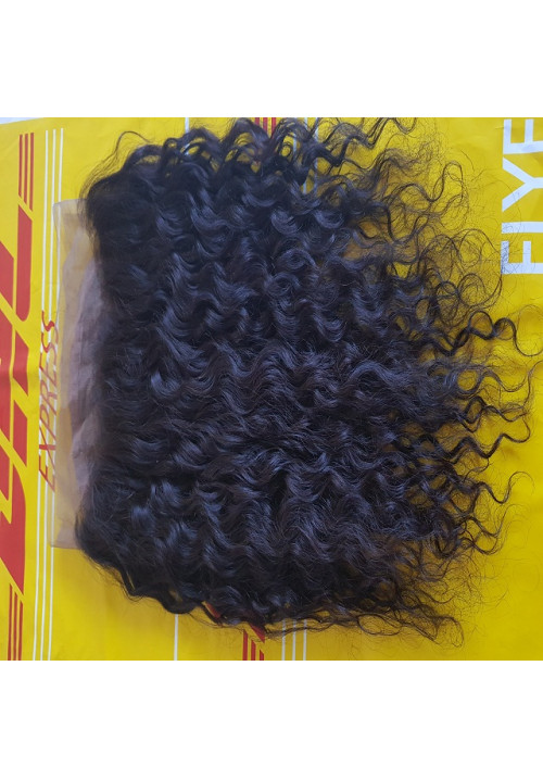 Frontal Curly Human Hair