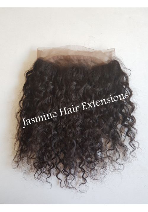 Natural Deep Curly Hair Frontal
