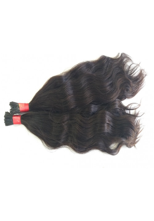 100% human I tip hair ins straight virgin human hair