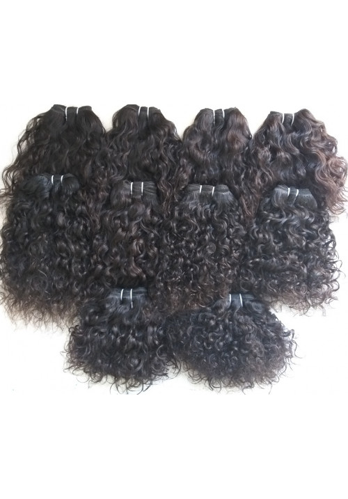 Raw indian Vintage Curly Human Hair