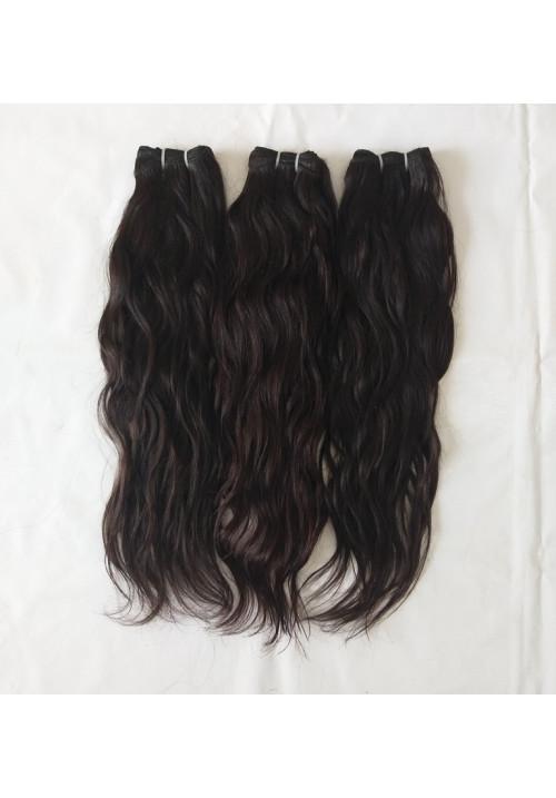 Raw Unprocessed Vintage Wavy human hair