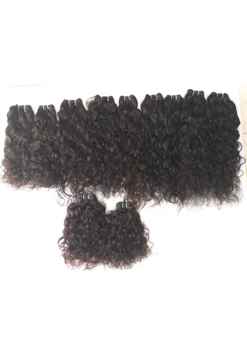 Raw Temple Curly human hair