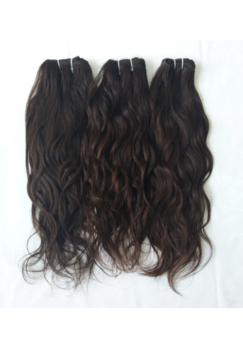 Raw Indian Wavy Hair Extensions