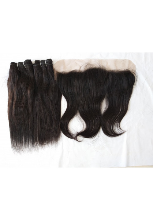 Indian Natural Virgin Remy Human Hair Extension