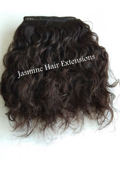 Raw wavy Human Hair Extension