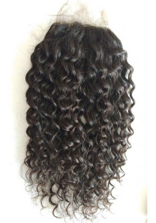 Transparent Curly Closure