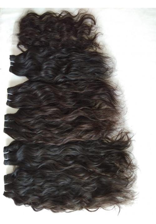 Indian Virgin Wavy Hair