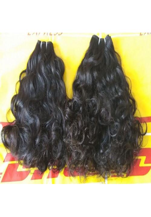 100% virgin human hair top quality Loose Curly hair
