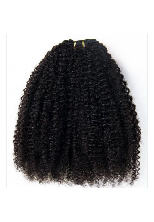 Afro kinky hair, 4c Afro kinky curly human hair weave