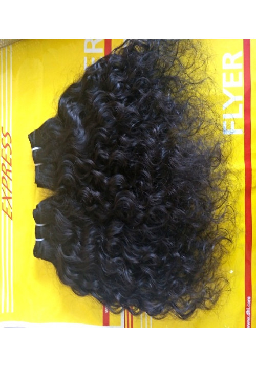 Processed Curly Hair