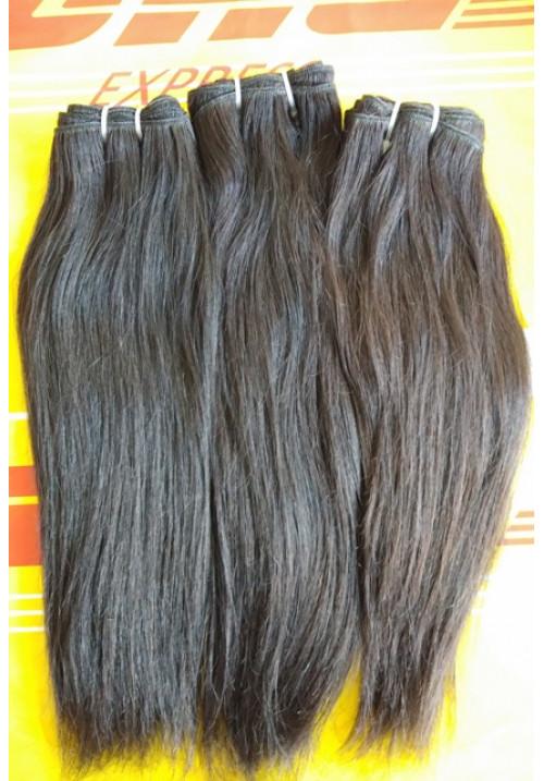 100% raw virgin Straight human hair