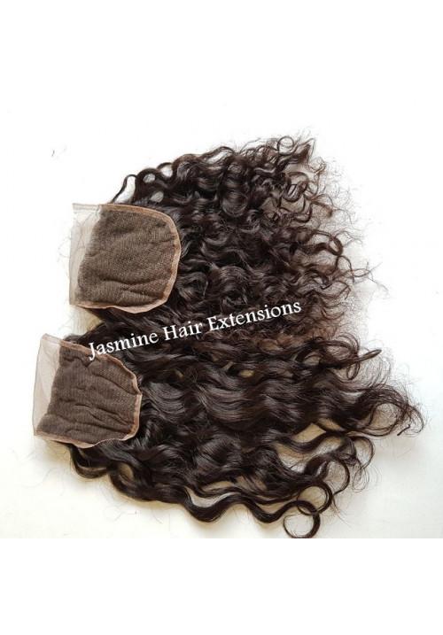 Indian Virgin Curly hair Closure